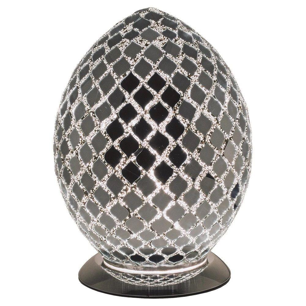 LM74CM Silver Mirrored Mosaic Glass