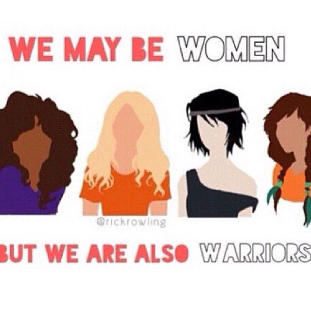 Pjo/Hoo Women are so strong