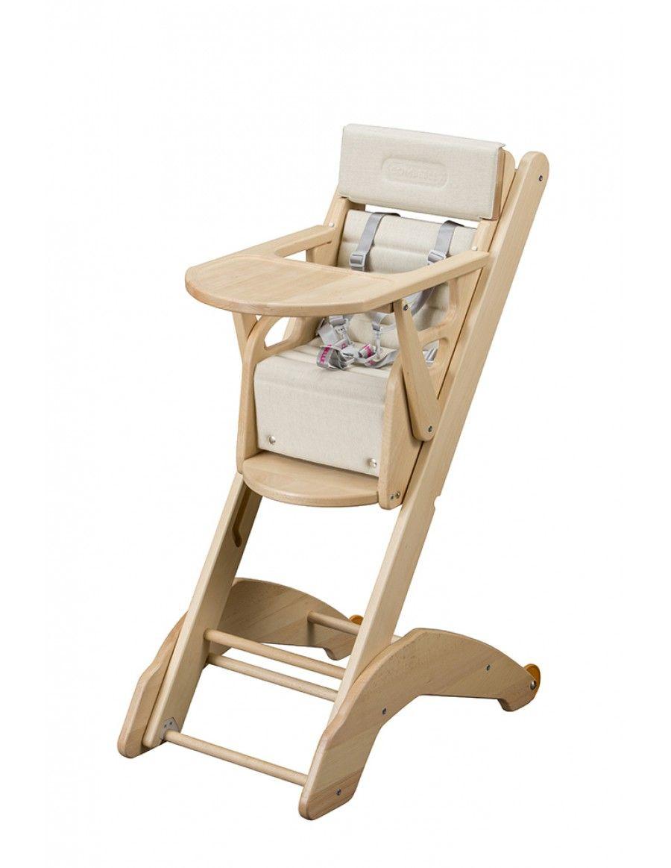 Combelle 21 Evo High Chair Natural Chair High Chair Furniture