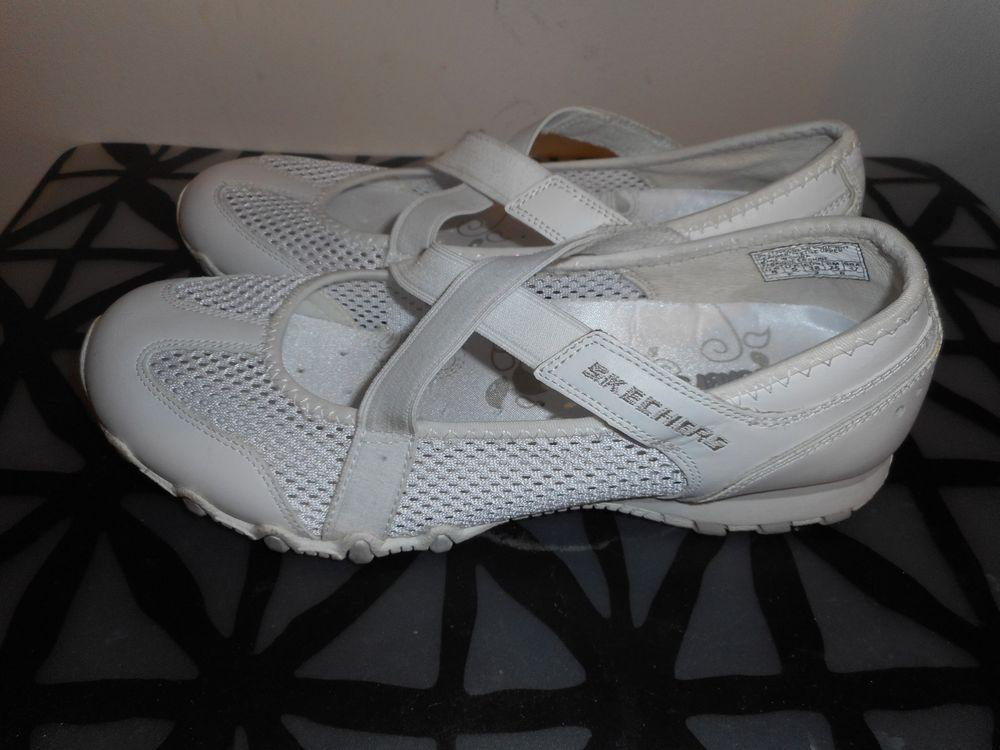 21cc87d95bb0b Skechers Womens Mesh / Leather Mary Jane Shoes # 21357 SZ 8 #fashion ...