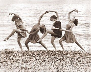 Dance on the beach.