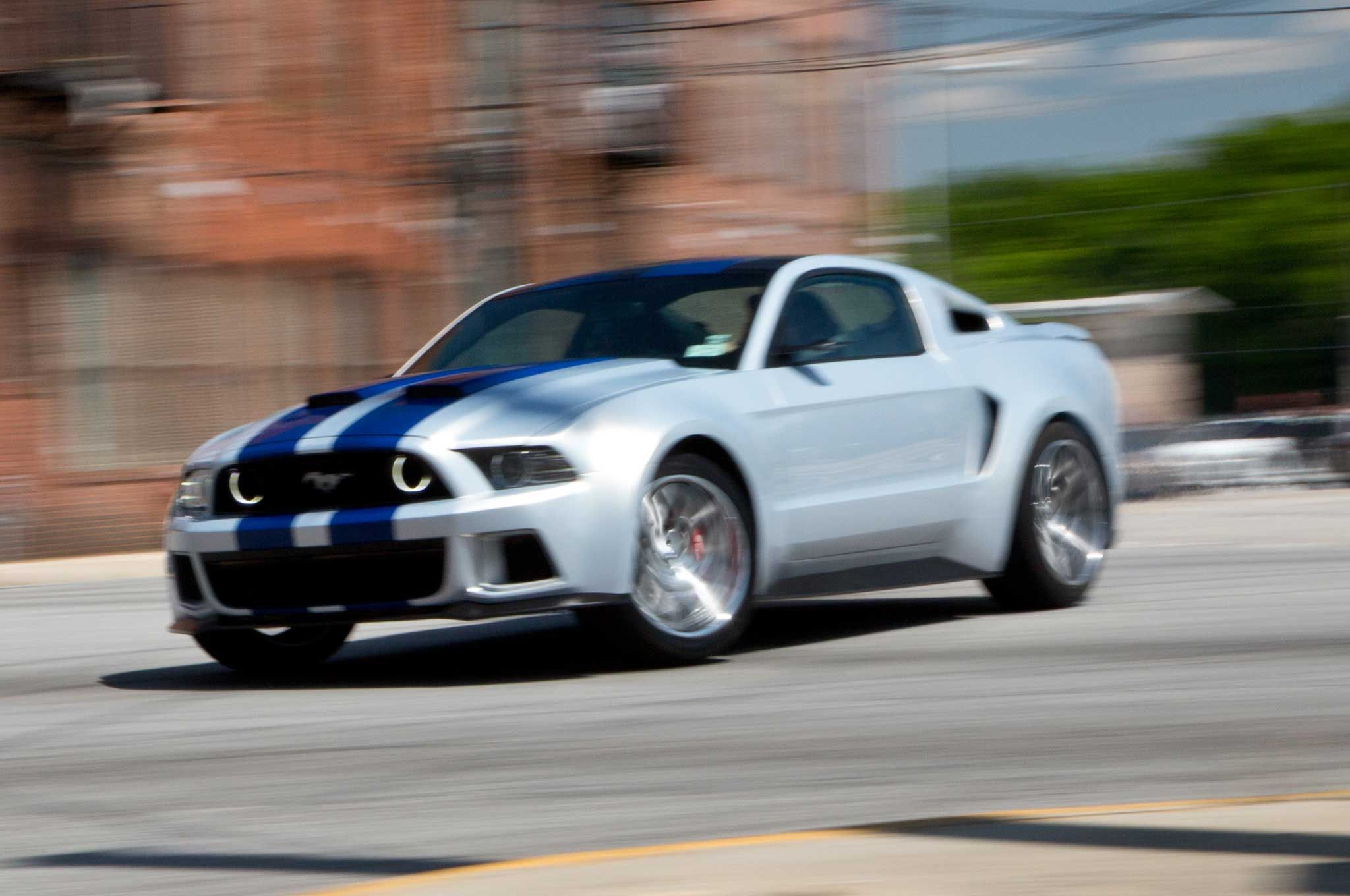 Mustang Gets Lead Role In New Need For Speed Movie VIDEO