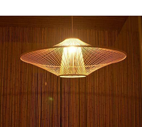 Amazon Com Arturesthome Japanese Handicraft Ceiling Light Mid Century Handmade Bamboo Lampshade South Japanese Handicrafts Japanese Lighting Ceiling Lights