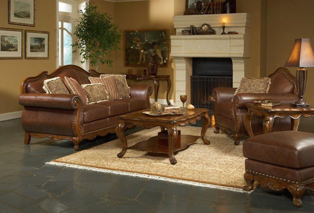 Leather Living Room Furniture Is Available From Everything