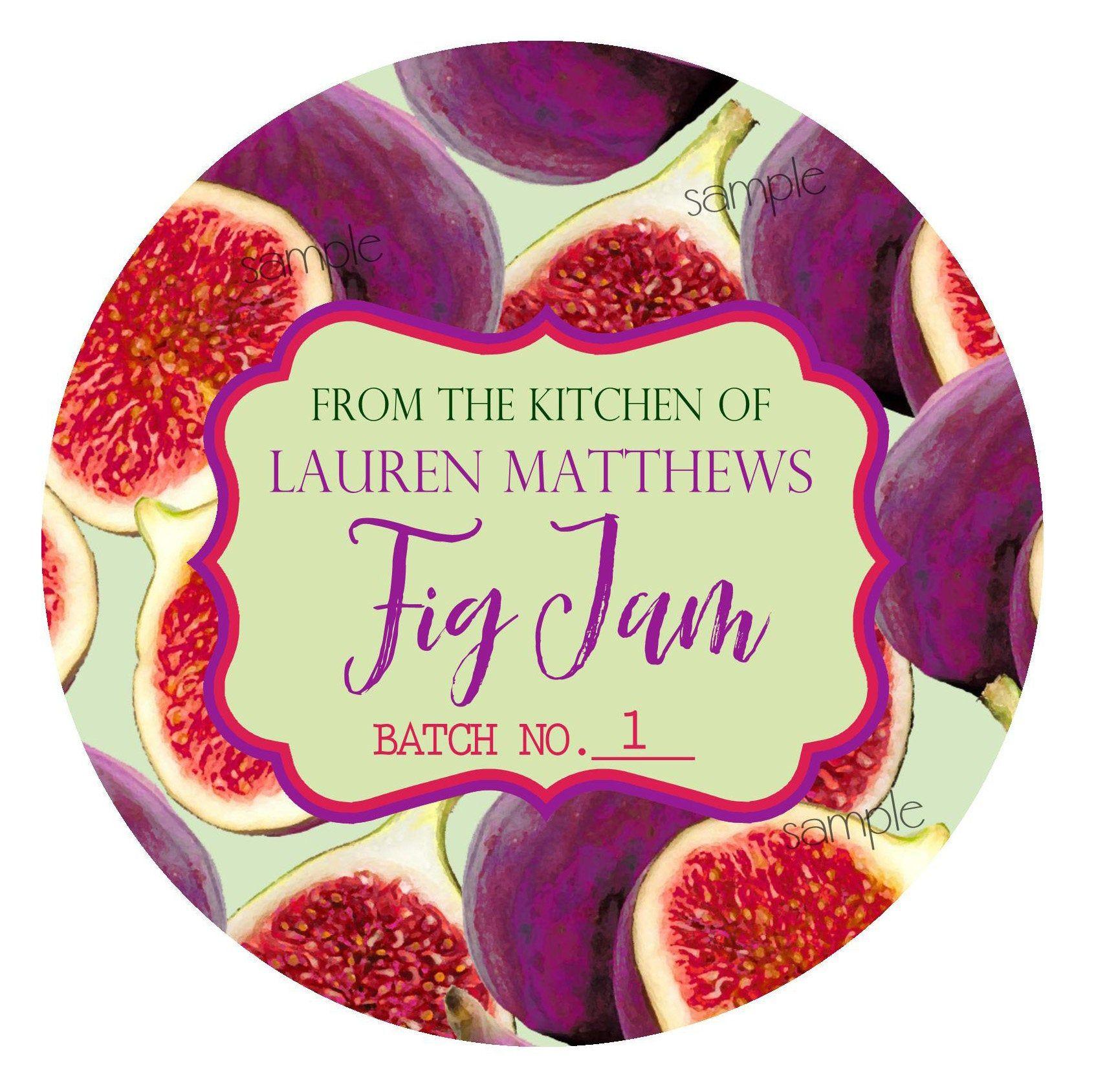 Fig jam canning labelsfig canning labelsfig preserves