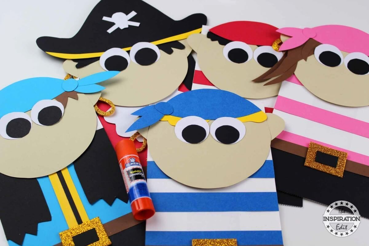 Paper Bag Pirate Puppets Kids Will Love
