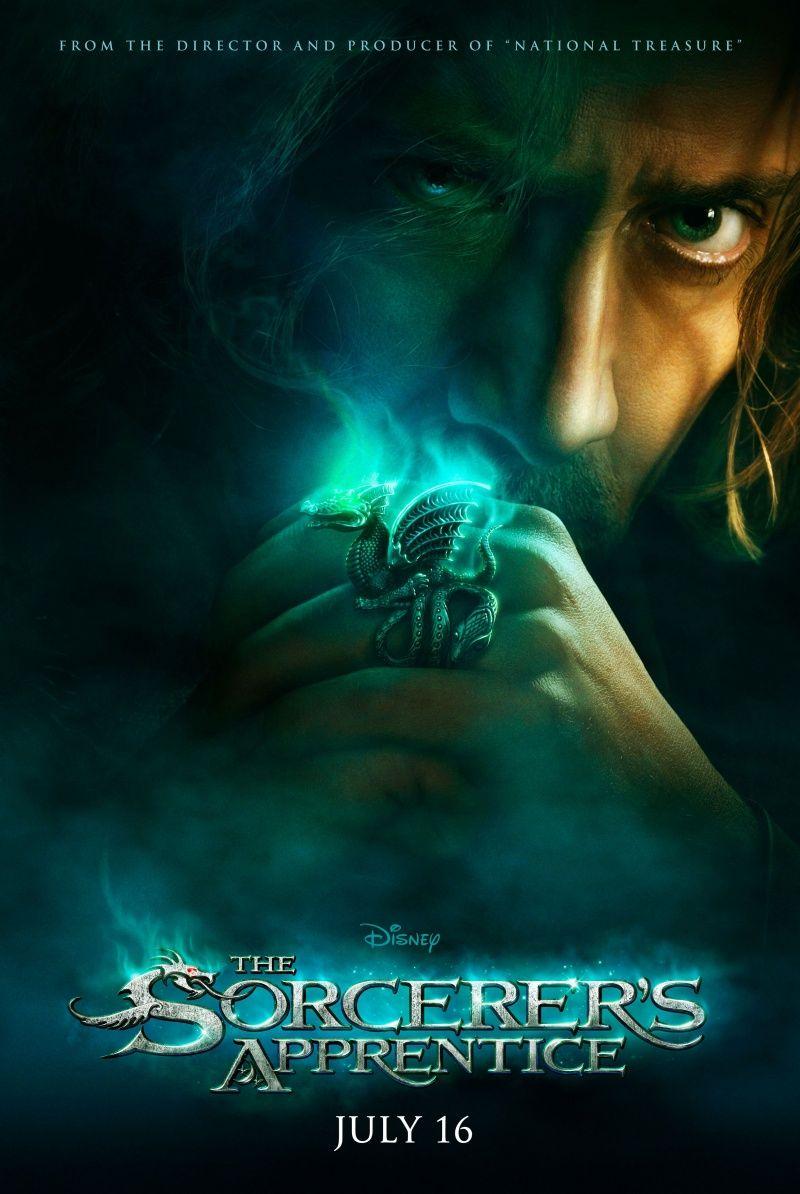 The Sorcerer S Apprentice 2010 Uchenik Charodeya The Sorcerer S Apprentice Nicolas Cage Movies Walt Disney Movies