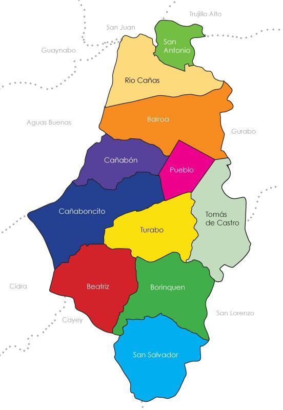 Towns of Caguas Puerto Rico CAGUAS La Ciudad del Turabo Pinterest