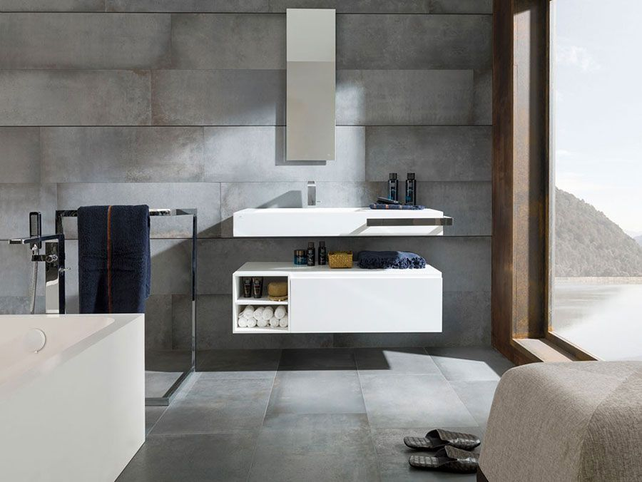 Lavabo bagno sospeso 05 | Bagni di design | Pinterest