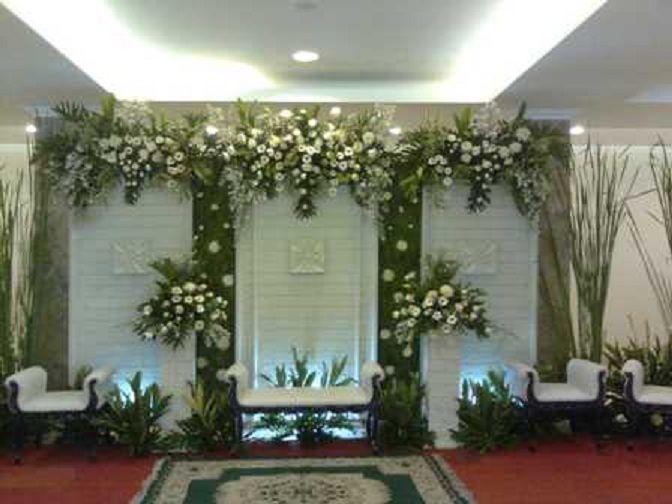 Contoh Gambar Dekorasi Pelaminan Minimalis Murah 14 Bridal
