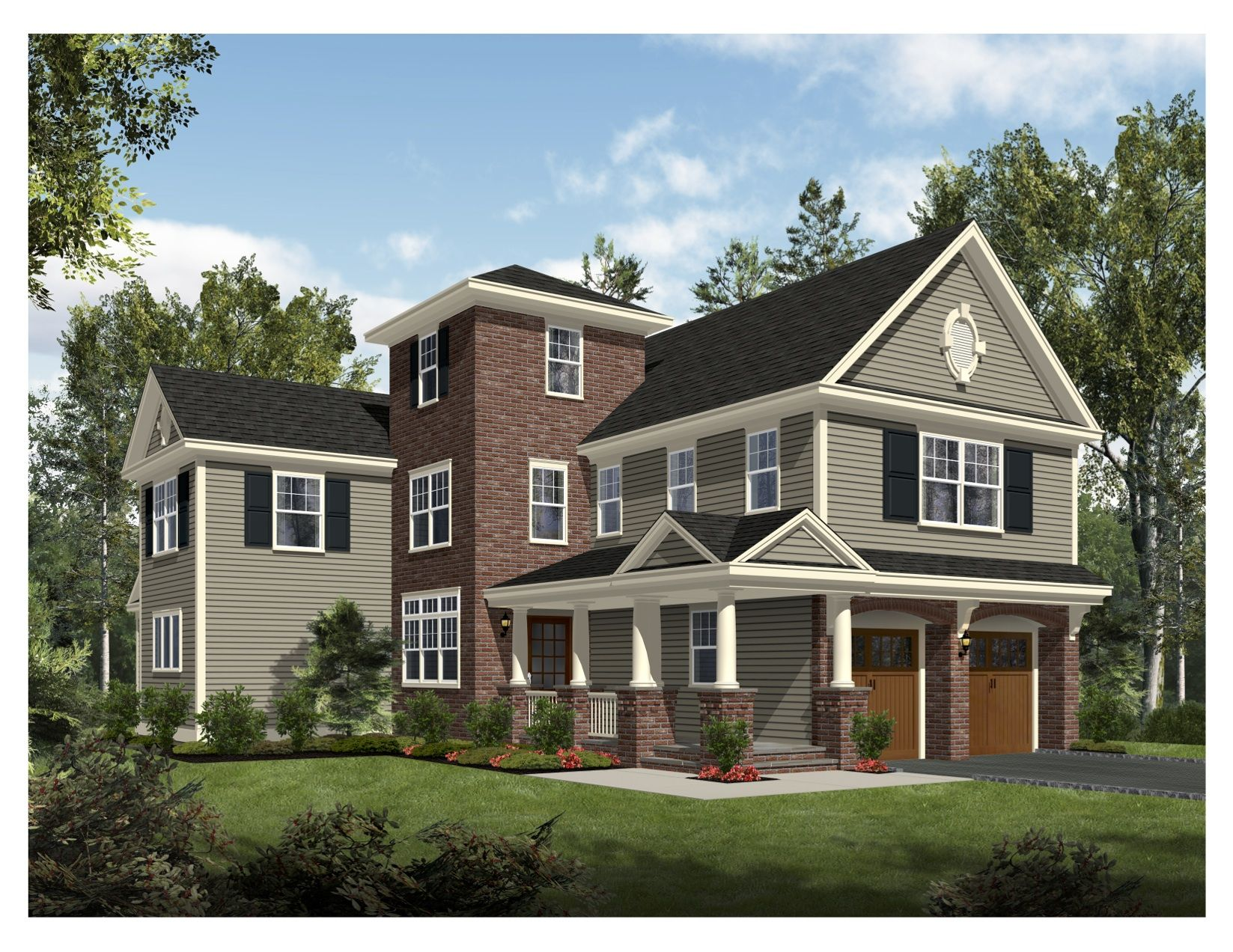 New Construction At 206 Son Drive Westfield Nj 07090 This Beautiful Home Will Be Built On The Edge Of Tamaques Park