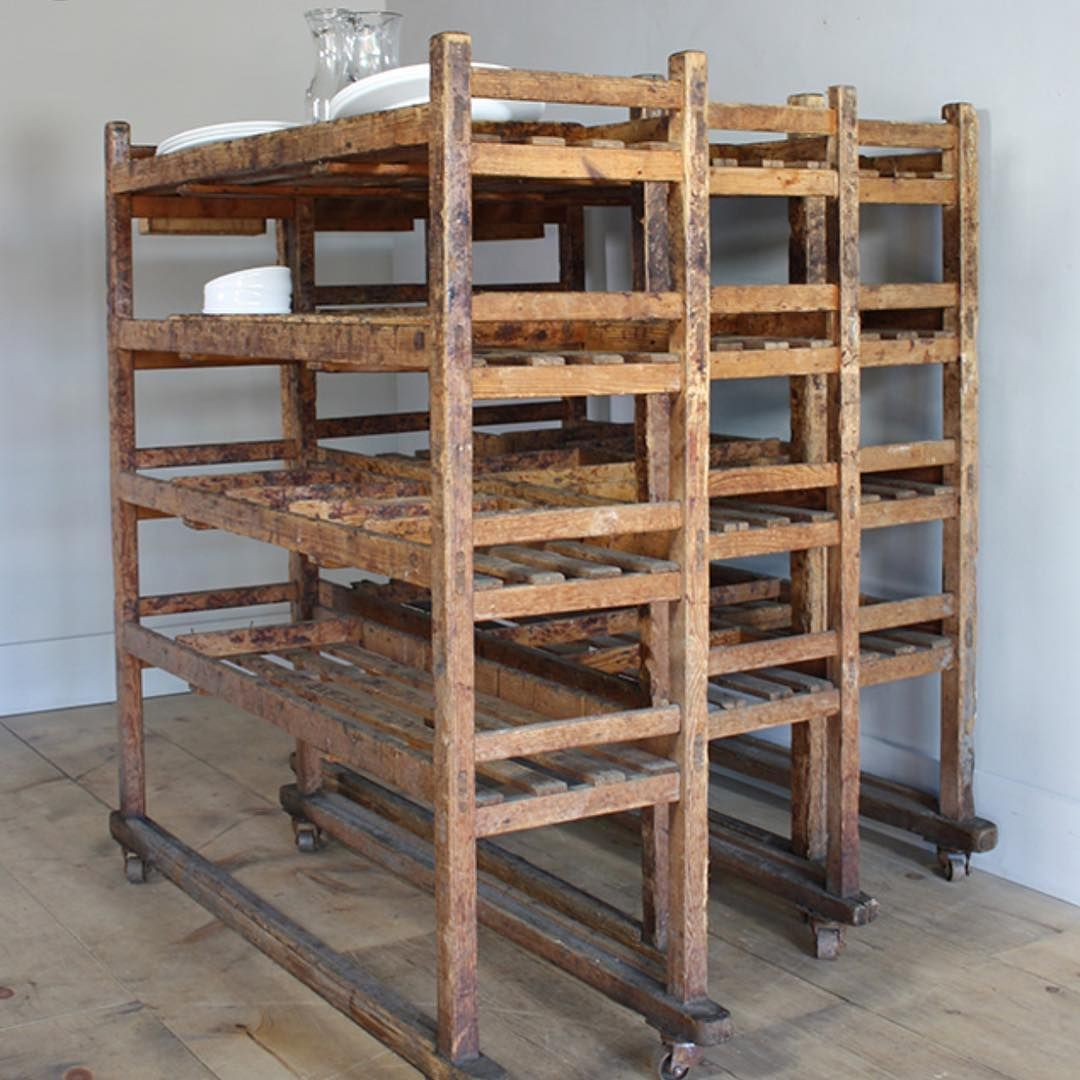 Help I M Looking For A Vintage Antique Wooden Rolling Rack Like