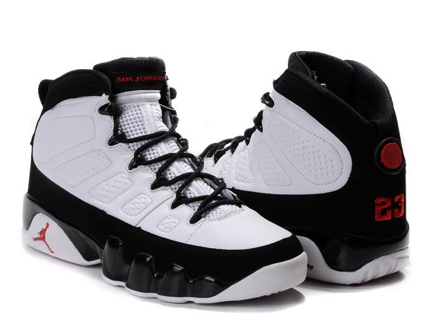 reputable site dc70c 2c88d Black Friday 2013 Sale For Men s Air Jordan 9 Retro Shoes Black White Online