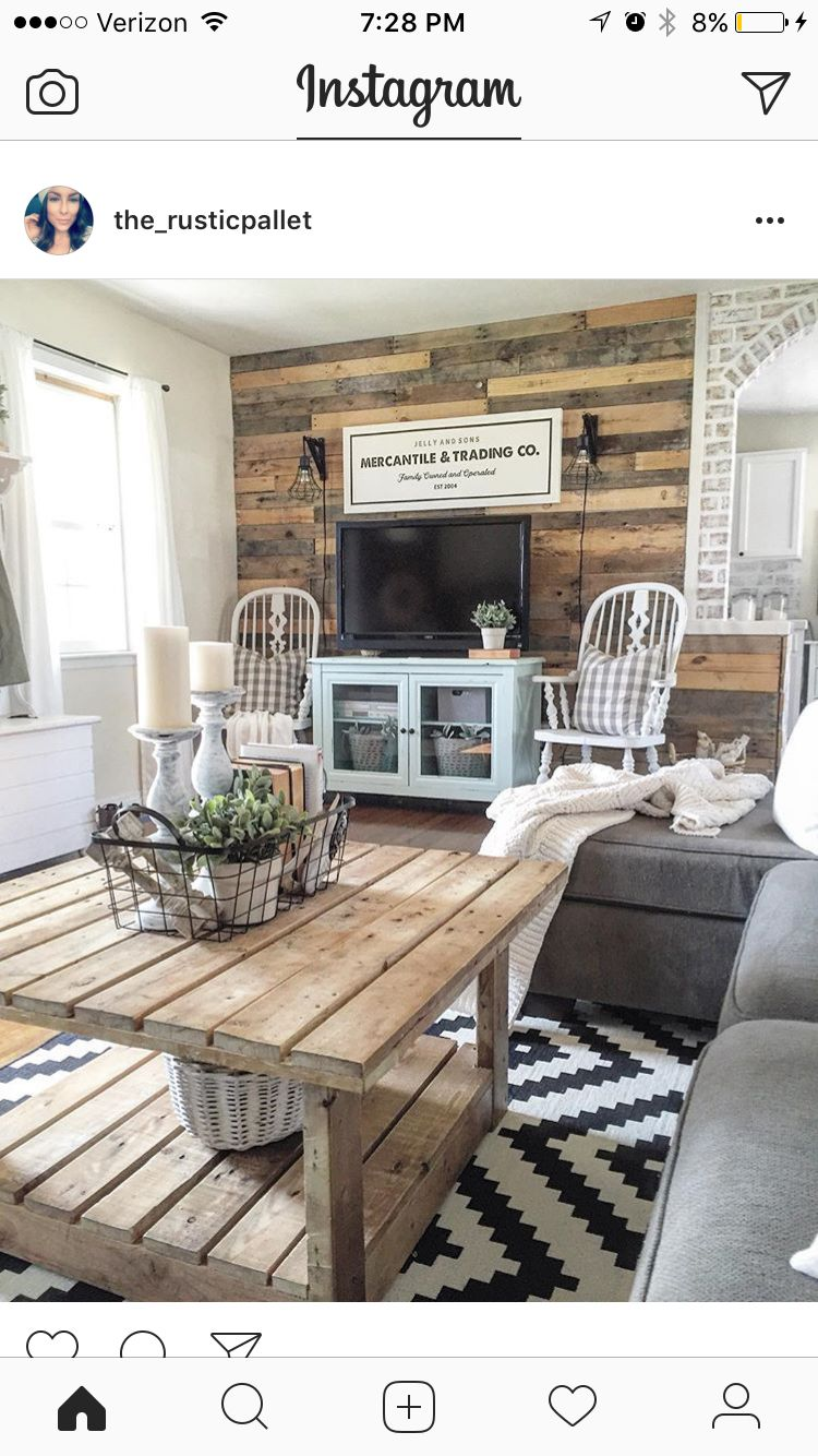 I want a wall like this in my living room. | Home | Pinterest ...