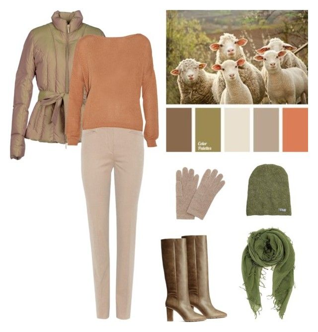 """A walk in the countryside"" by dezaval ❤ liked on Polyvore featuring +MINI, H&M, Loro Piana, Enza Costa, Chan Luu, Neff, Portolano and country"