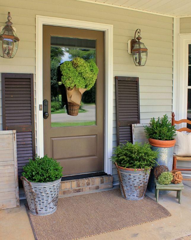 Decorating A Front Entrance Front Entrance Decor Front