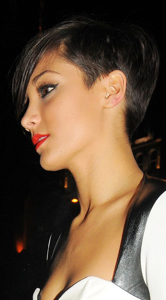 Frankie Sandford Hair From Back