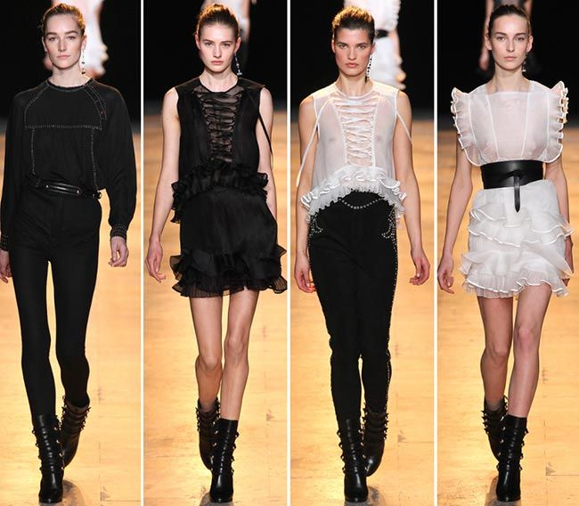 84200d5ec94 Isabel Marant Fall/Winter 2015-2016 Collection – Paris Fashion Week ...