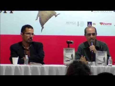 Geney Beltrán (1976) presenta su segunda novela, Cualquier Cadáver (Cal y Arena, 2014).