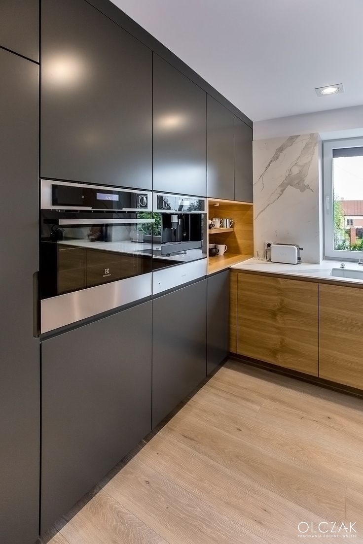 Photo of You can choose between kitchen cabinet models and worktops. # Kitchen
