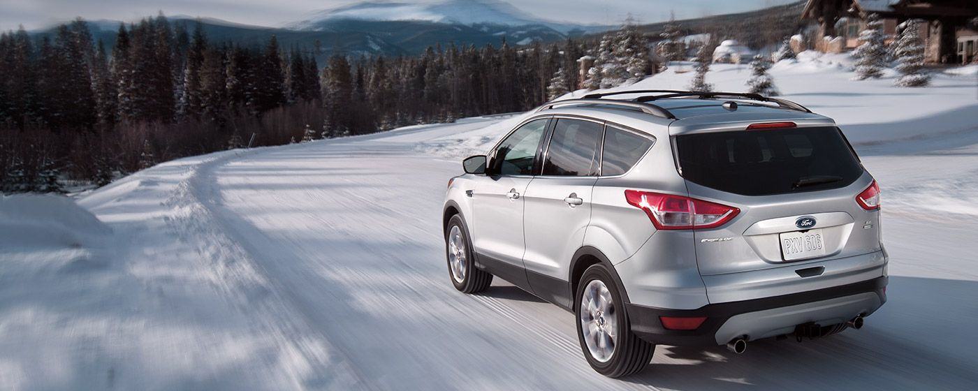 Drive Through The Snow With Ease In The 2015 Ford Escape Ford
