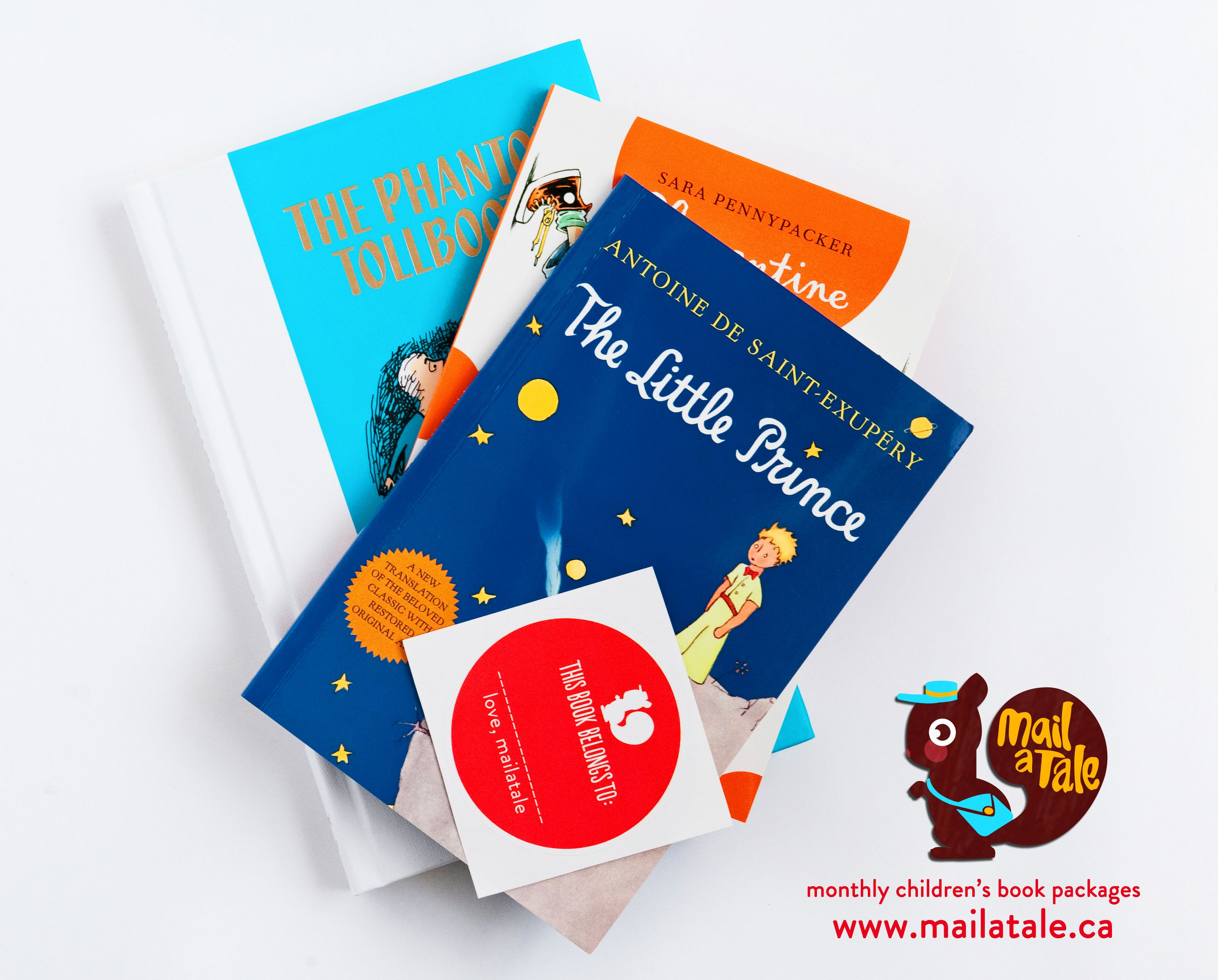 Mail a Tale - Monthly Childrens Book Box