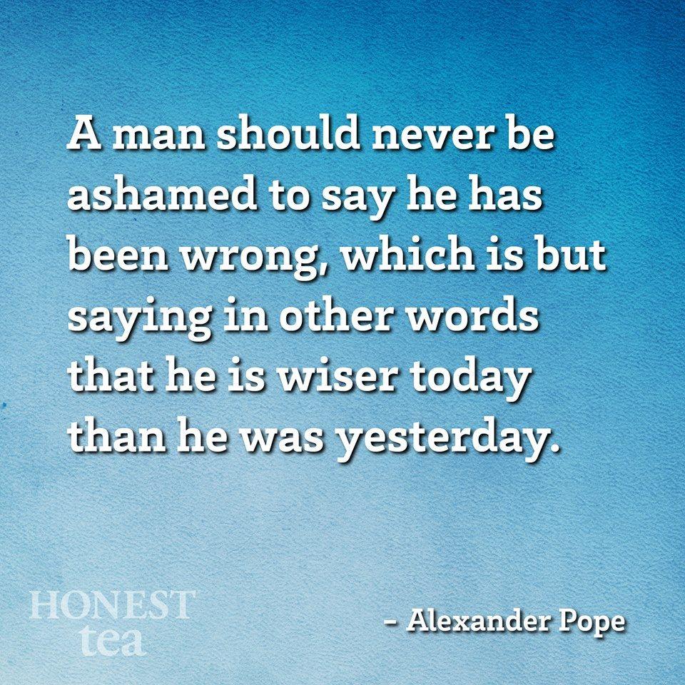 Alexander Pope.