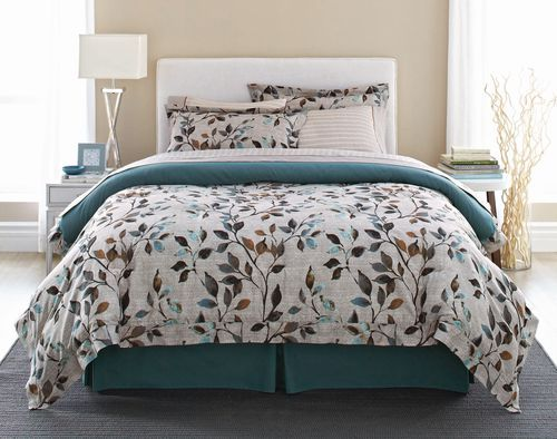 Springmaid Bed In A Bag 8 Piece Branches Walmart Ca Bed