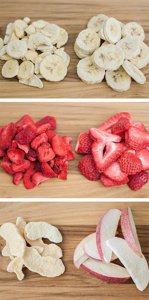 Home Freeze Dried Food vs. Commercially Freeze Dried Food #freezedriedstrawberries