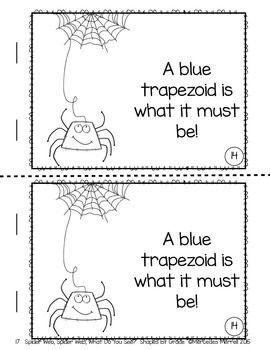 Spider-Web-Spider-Web-What-Do-You-See-Shapes-1st-Grade-2127282 Teaching Resources - TeachersPayTeachers.com