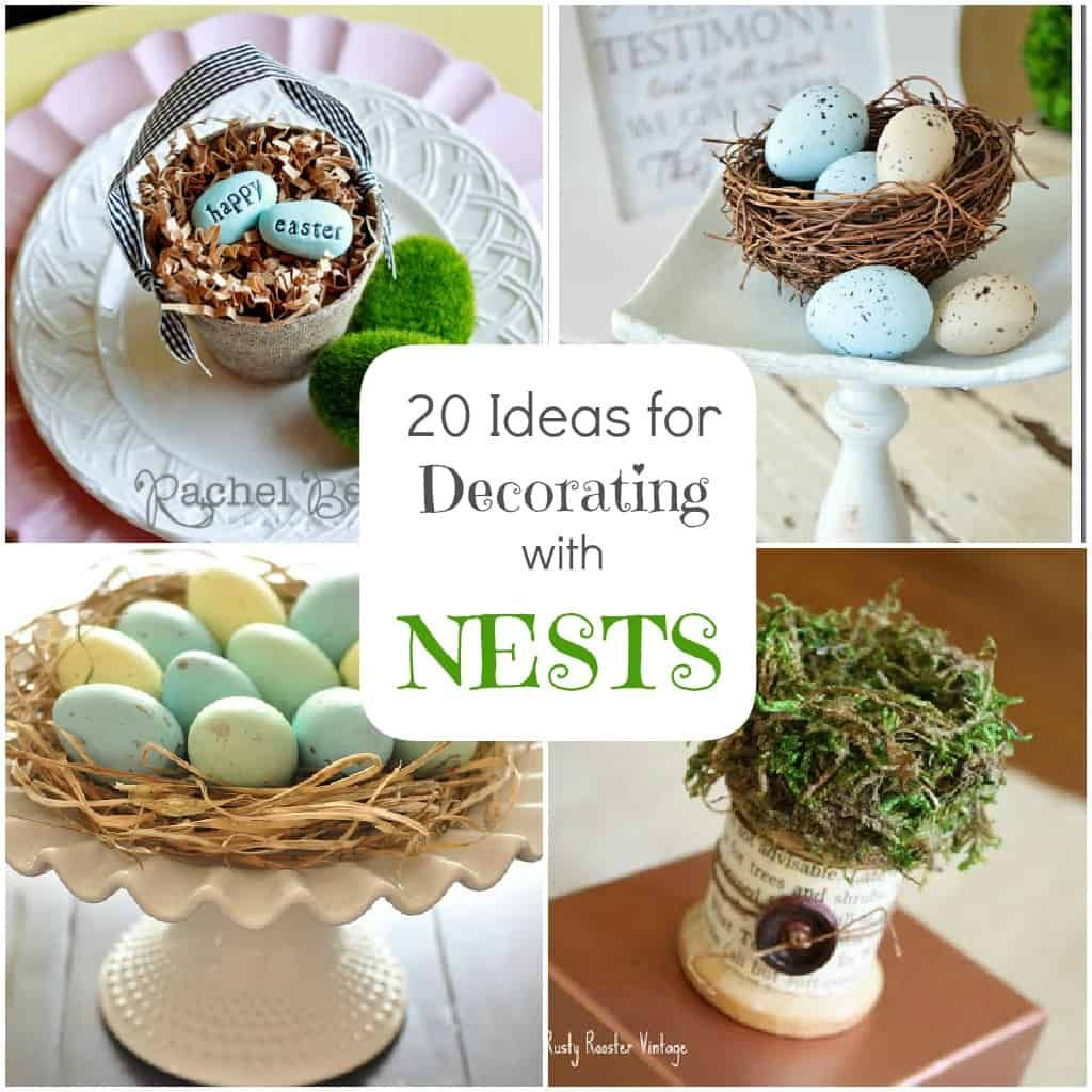 20 gorgeous do it yourself ideas for using bird nests in home ...