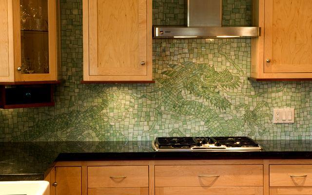 Hidden Dragon Mosaics Kitchen Mosaic Kitchen And Bath Kitchen Makeover