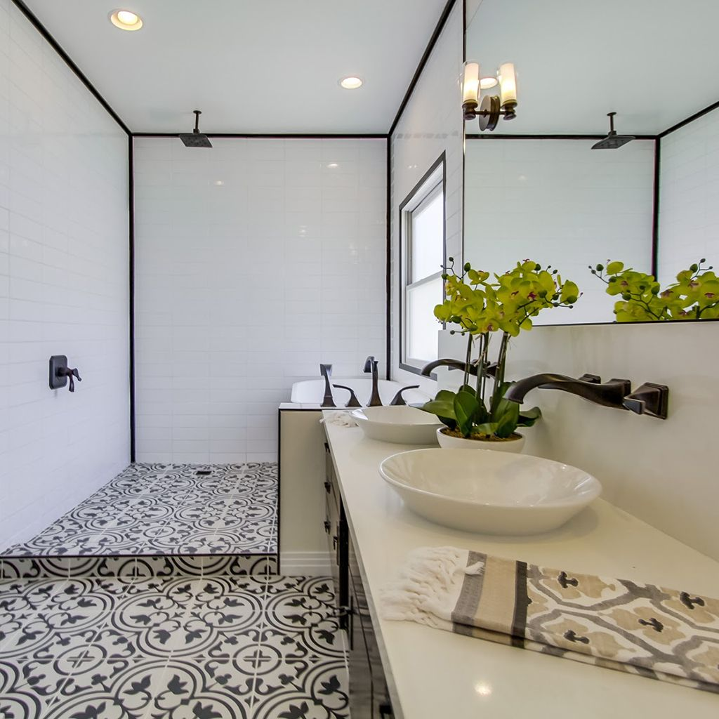A private home in los angeles ca tile hydraulic black home is a private home in los angeles ca tile hydraulic black doublecrazyfo Gallery