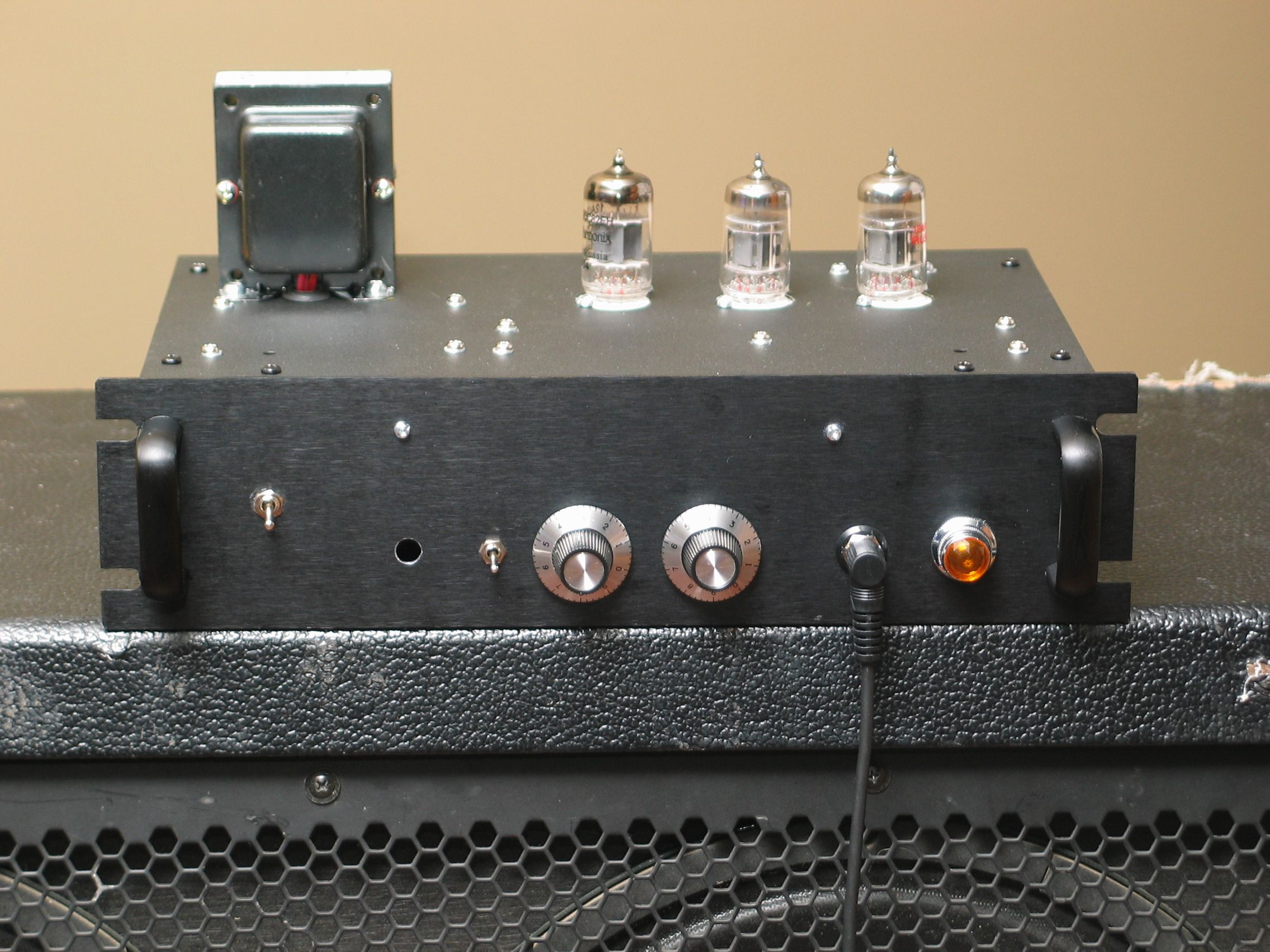 Firefly 1watt 12AU7 tube guitar amp Guitar amp, Diy
