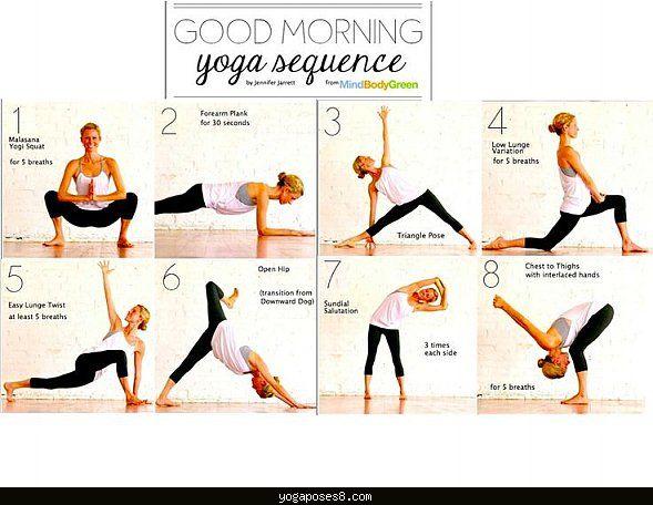 Good Yoga Routines Yogaposes8 Com Good Yoga