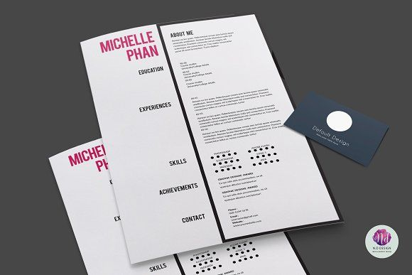This modern and professional resume will help you get noticed! The