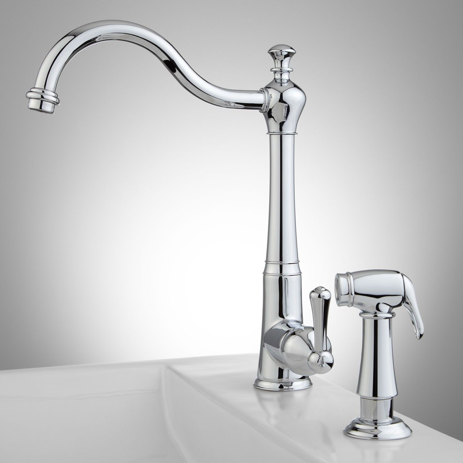 Sonoma Kitchen Faucet with Handspray - Kitchen Faucets - Kitchen ...