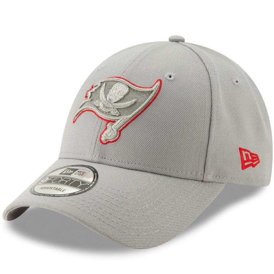 Men s Tampa Bay Buccaneers New Era Gray Tempo 9FORTY Adjustable Snapback Hat 5e577fae2