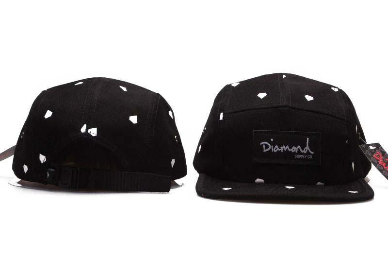 20 Style Five 5 panel diamond snapback caps hip hop cap flat hat hats for  men 4292fa9688e