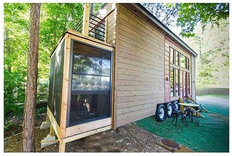 Tiny House Sunroom Genius Small Tiny House Tiny House Swoon Tiny House On Wheels