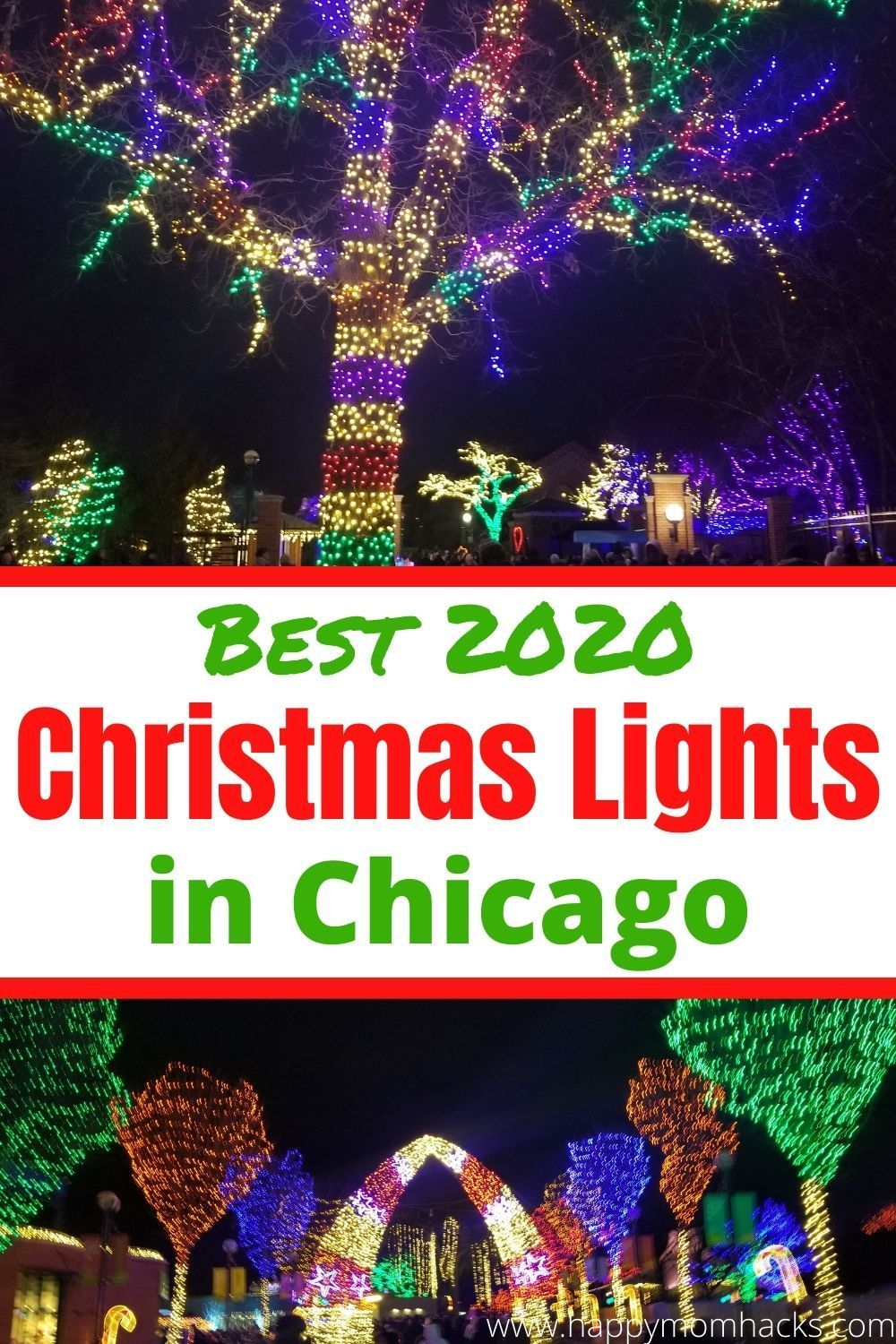 Christmas Shows In Chicago 2020 Christmas in Chicago 2020   Best Light Displays | Happy Mom Hacks