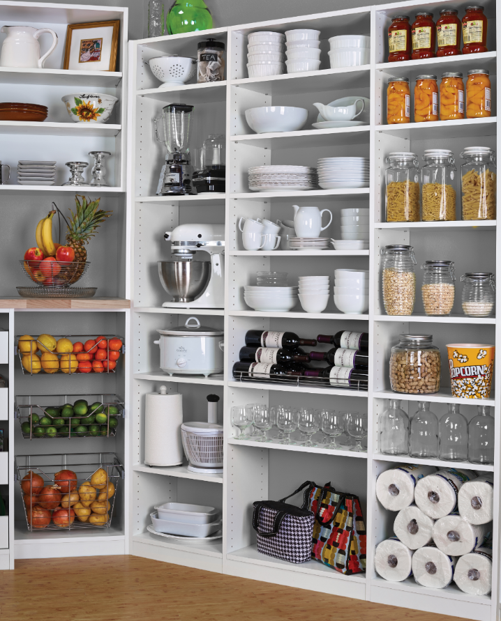 Learn Kitchen Design: Holiday Guests And Meals Require Lots Of Storage Space And