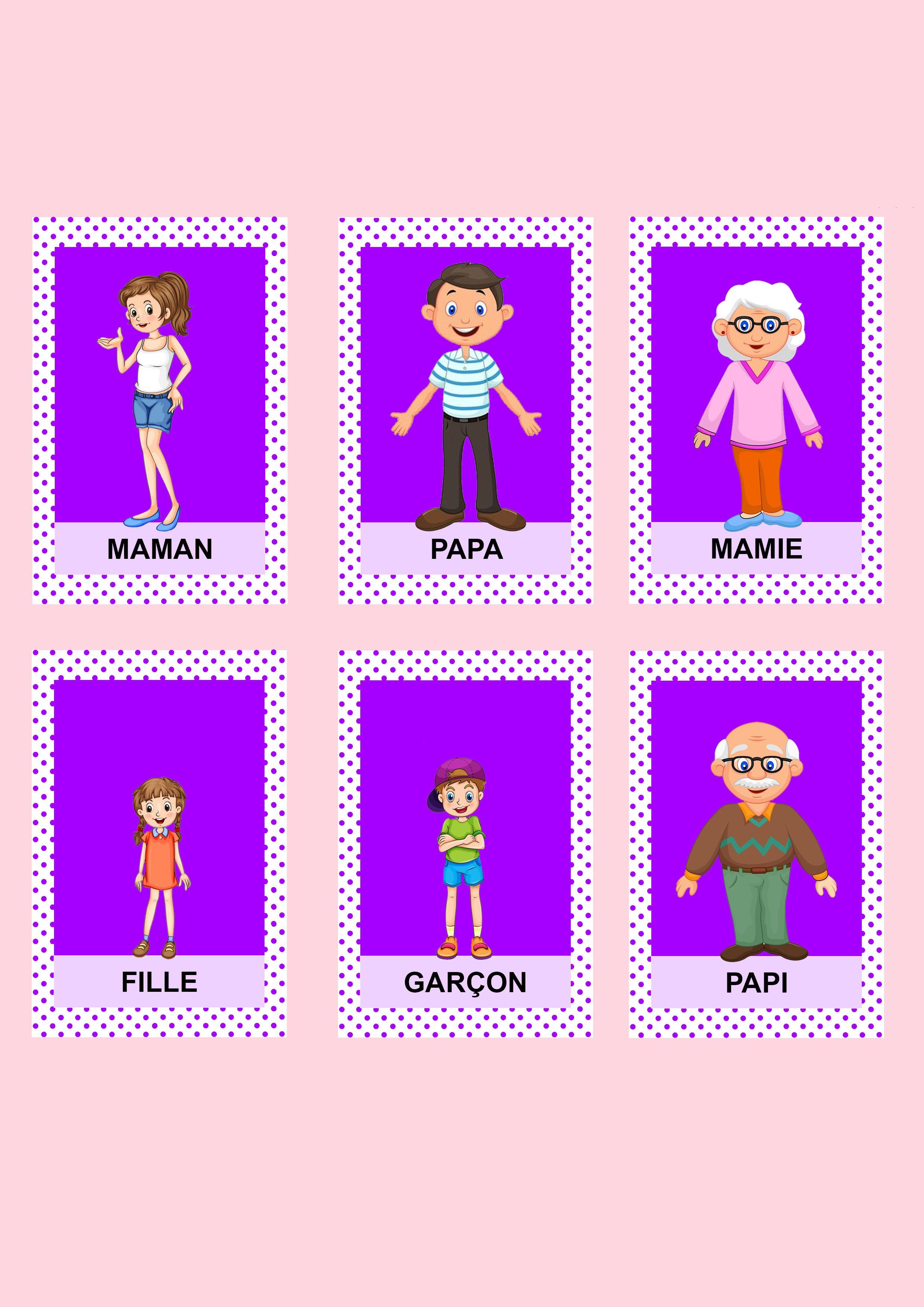 Jeu De 7 Familles Les Activites De Maman Jeux De Societe Enfant Jeux Jeux En Famille
