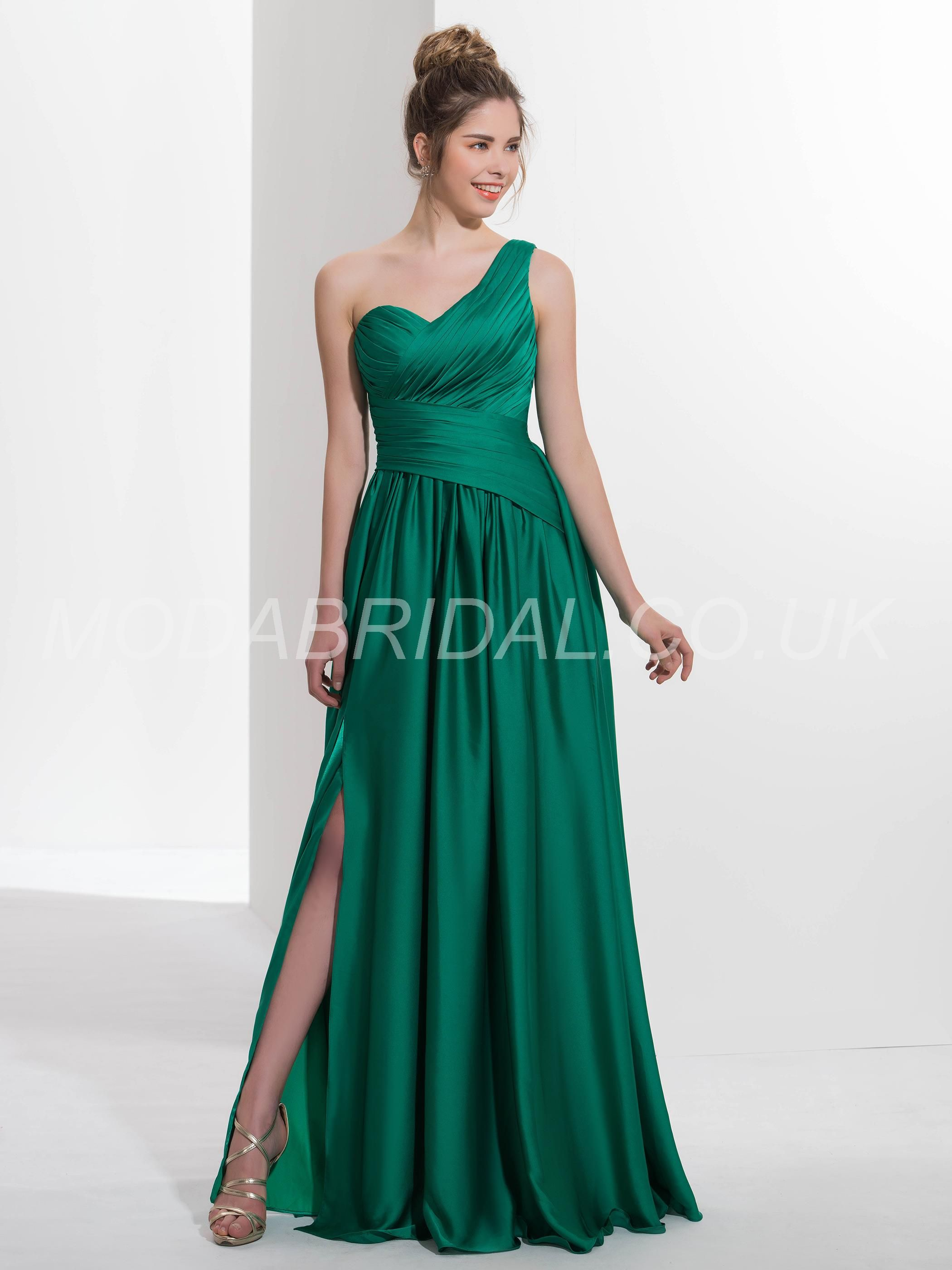 Modabridal Co Uk Supplies Tailor Made Sleeveless One Shoulder Winter Green Button Summer Spring All Sizes Dress Max Dresses Prom Dresses Sweep Train Prom Dress [ 2800 x 2100 Pixel ]