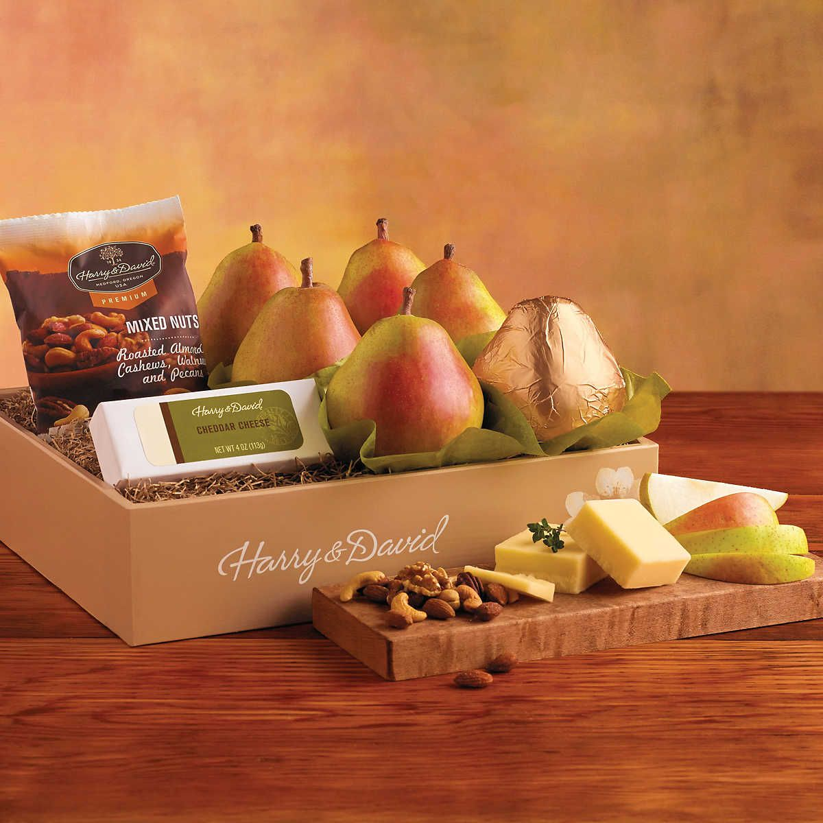 Merry mixup gift box with images fruit delicious