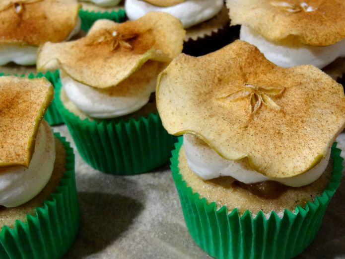 Brandy Apple Pie Cupcakes