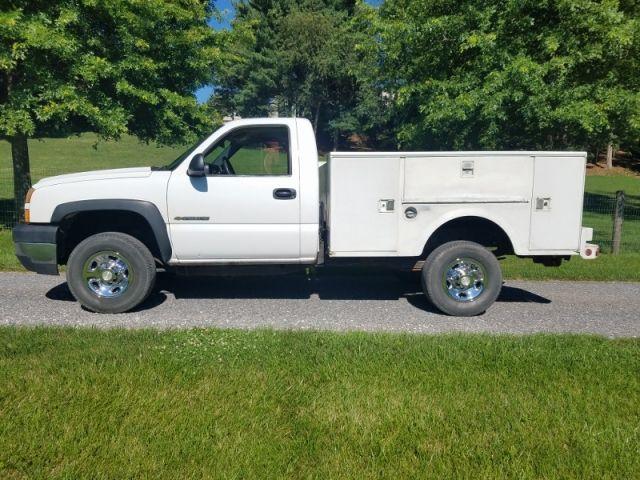 2006 Chevy 2500 Hd 4x4 Utility Truck Trucks For Sale Utility