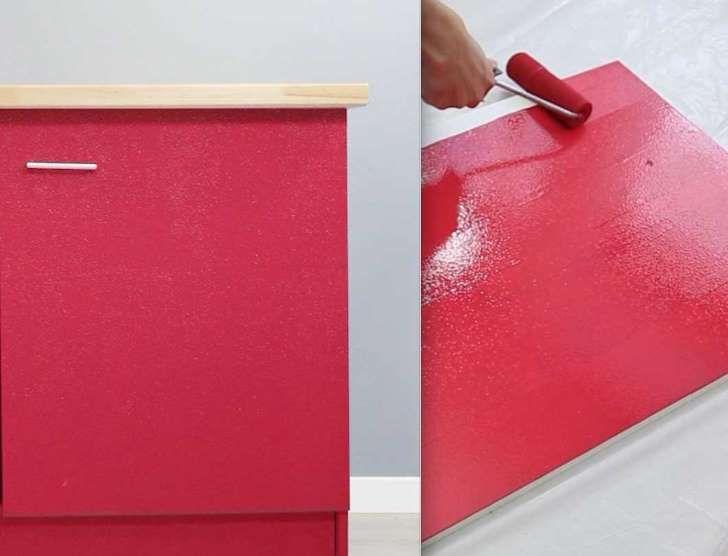 Comment peindre un meuble de cuisine maison Pinterest Painting - comment repeindre un meuble vernis