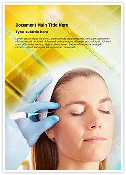 Botox word document template is one of the best word document editabletemplates powerpoint templates botox overview human face cosmetic surgery botox injections liquid idyllic alternative medicine beauty toneelgroepblik