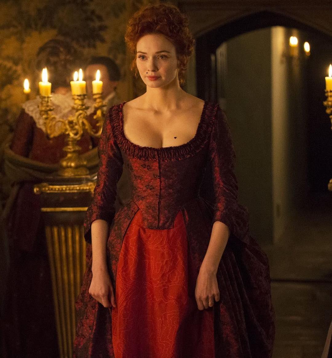 Kitty On Instagram Poldark Demelza Always Looks Good In A Red Dress Dresses Poldark 18th Century Fashion
